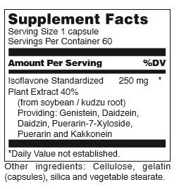 DL-(Genistein Isoflavin 250) 60ct