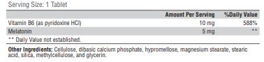 XY-(Melatonin CR 5mg) 90ct